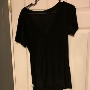 Victoria secret black v neck tee
